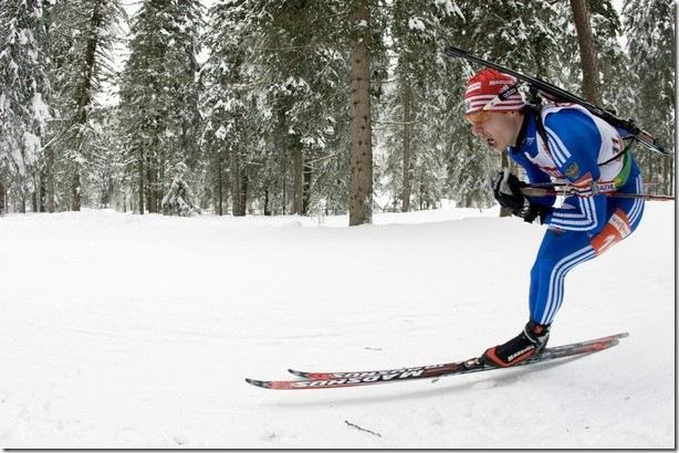 Евгений Устюгов биатлонист