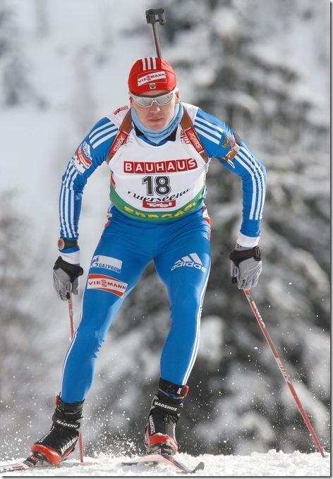 Иван Черезов победитель этапа в Холменколене